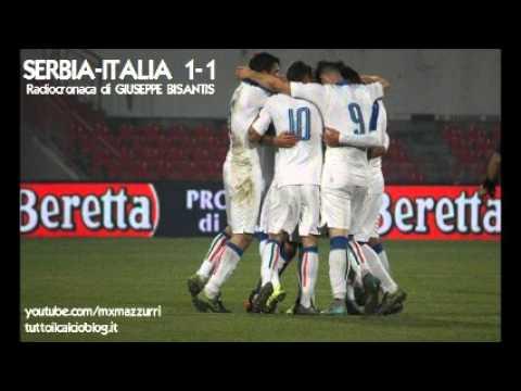 U21 - Serbia-Italia 1-1, radiocronaca di Giuseppe Bisantis (13/11/2015) da Rai Radio 1