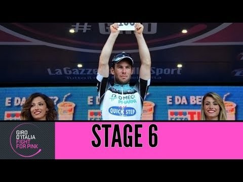 Giro d'Italia 2013 Tappa/Stage 6 Official Highlights