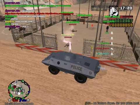 GTA San Andreas PC multiplayer gameplay