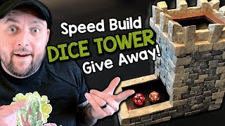 How to Build a Dice Tower - Giveaway & Template! (Black Magic Craft Episode 087)