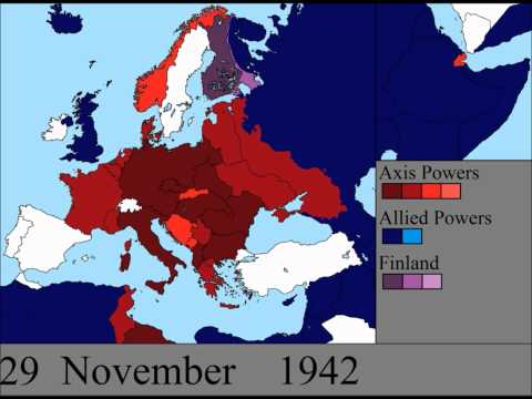 World War Ii In Europe: Every Day video