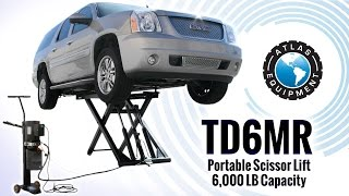 TD6MR Portable Scissor Lift