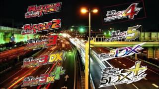 湾岸ミッドナイトマキシマムチューン 歴代 Entry Maxi 【 初代〜5DX+  】BGM