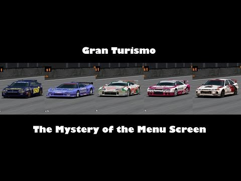 *HD RE-UPLOAD* Gran Turismo - The Mystery of the Menu Screen