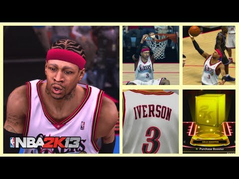 NBA 2k13 Pack Opening Road To Iverson Episode 8