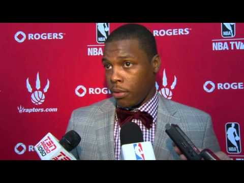 Kyle Lowry Media Scrum - July 17, 2012