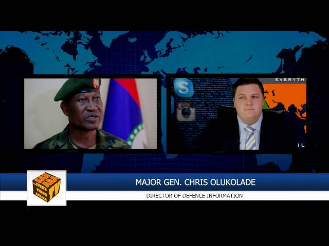 Maj. General Chris Olukolade On Recent Gains Against Boko Haram