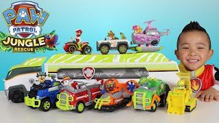 Paw Patrol Jungle Patroller Full Vehicles And Characters Set Toys Unboxing Ckn Toys