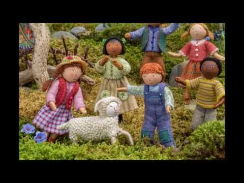 Felt Wee Folk - New Adventures by Salley Mavor - Book Trailer