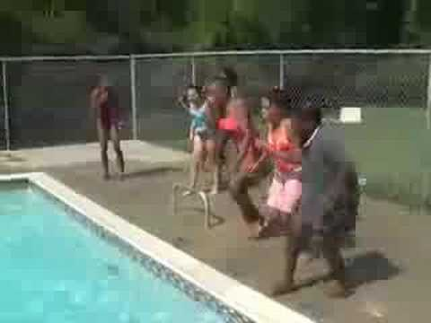Pool time - Preteen Week - Camp Open Arms
