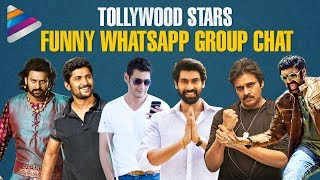 Tollywood Stars Funny WhatsApp Group Chat | Sankranti Special | #HappySankranti | Telugu FilmNagar
