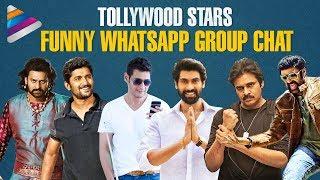 Tollywood Stars Funny WhatsApp Group Chat | Sankranti Special | #HappySankranti | Telugu FilmNagar