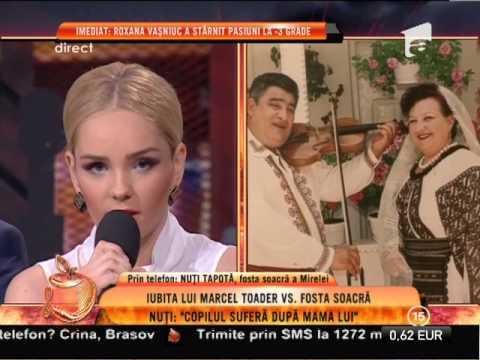 Nuți Tapotă, fosta scocră a Mirelei Constantin: