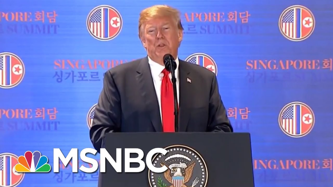 President Donald Trump's Natural Instinct For Science | All In | MSNBC
