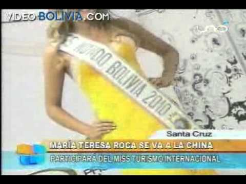 Miss Bolivia's Evening Gown and Wardrobe For Miss World 2010
