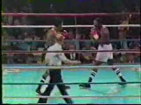 Sugar Ray Leonard vs Bruce Finch Video