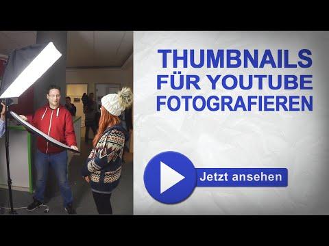 Thumbnails erstellen für Youtube - Fotos machen I marcusfotos.de