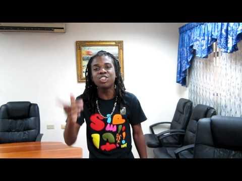 Jahmiel representing reggae.ee @ Shocking Vibes Studio