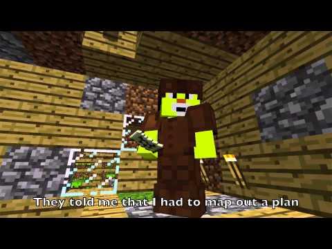 Avicii - Wake Me Up Minecraft Parody (I'll Stay Up)