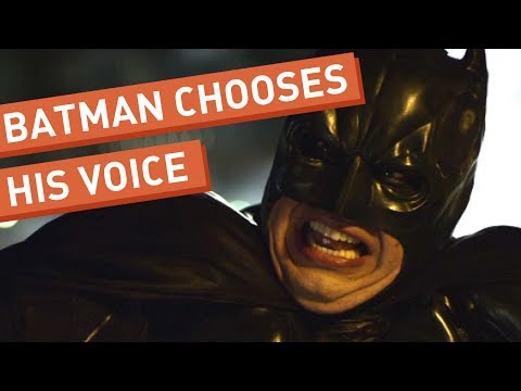 Batman Chooses His Voice (from Front Page Films)