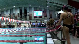 2019.01.19 North Carolina Tar Heels at #6/#9 NC State Wolfpack Swimming & Diving