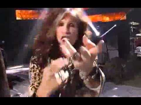 Aerosmith with Steven Tyler  Finale American Idol 2012