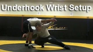 Wrestling Moves KOLAT.COM Underhook Wrist Leg Attack Setup