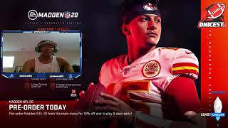 THE ALL MADDEN CHANNEL MIXER LIVESTREAM 5/23/19 3-1 record