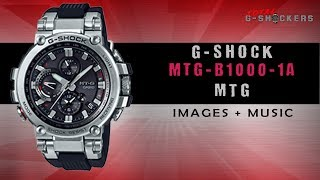 ⌚ Smart Bluetooth Connected Casio G-Shock Watch ⌚ Casio G-Shock MTGB1000-1A Bluetooth MT-G