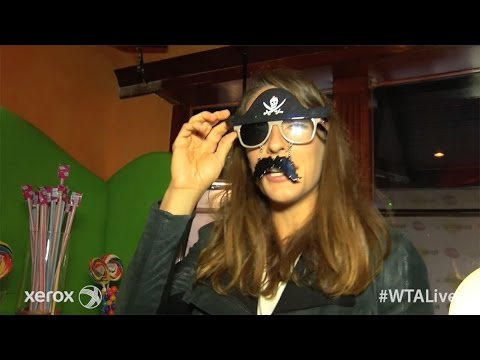 Andrea Petkovic | WTA Live Fan Access presented by Xerox | 2015 Family Circle Cup