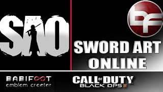 Black Ops 2 Emblem - Sword Art Online