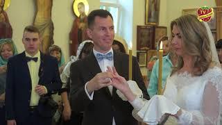 Венчание в храме Совхоза имени Ленина Бориса и Валентины