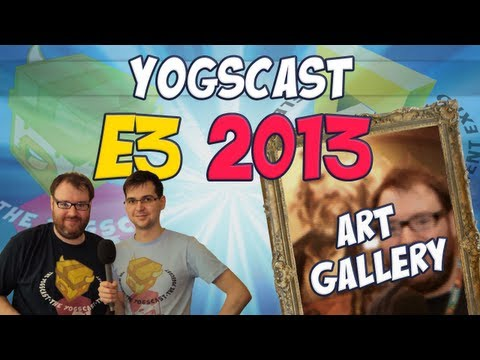 E3 2013 - Simon's Art Gallery Tour