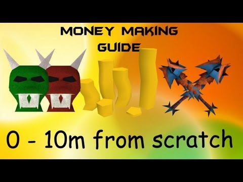 RuneScape 3 EoC Money Making Guide / 0 – 10m from scratch! / per hour 2013 Commentary