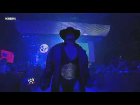 The Undertaker Entrance As World Heavyweight Champion 2009 - After Hell In A Cell  Hd video