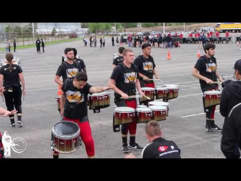 United Percussion in the Lot   WGI 2017 Finals   Steve Weiss Music