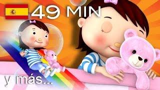 Canciones para dormir | Y muchas más canciones infantiles | ¡49 min de LittleBabyBum!