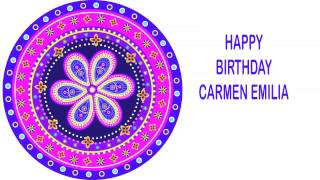 Carmen Emilia   Indian Designs - Happy Birthday