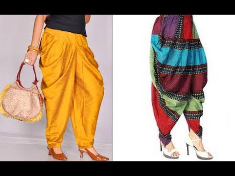 How to make latest designer dhoti harem pants cutting and stitching tutorial DIY (Hindi version)