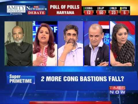 The Newshour  Debate: Poll Of Polls - Full Debate (15th Oct 2014)