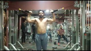 Village GHADOLI Gym time work out normal videos entertainmnet