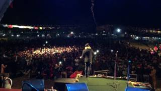 Raju Lama : Singing with fans @ Pokhara