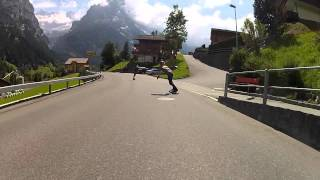 Epic Scenery and Longboarding Raw