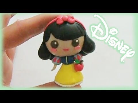 Disney Princess - Snow White Chibi Clay Tutorial