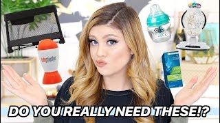 NEWBORN MUST HAVES! | WHAT YOU ACTUALLY NEED!