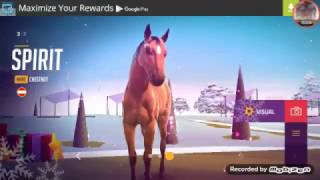 Custom Winter Horse Gameplay! Most high Quality Horse game on mobile!