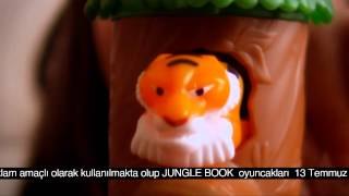 BURGER KING JUNGLE BOOK 2014