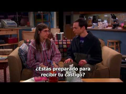 Amy get punished by Sheldon