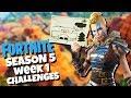 Follow the Treasure Map in Risky Reels! - Fortnite Season 5 Challenges Week 1 - Secret Star Location