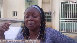 Would you join MMM if it returns?